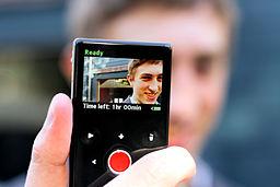 Flip camera display