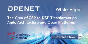 The crux of CSP-to-DSP transformation: agile architecture and open platforms