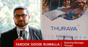 Farook Siddik of Thuraya on Mobile Satellite Services for Ubiquitous Connectivity