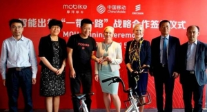 China Mobile Teams with Mobike and Ericsson to Accelerate Digital Services and Applications on IoT