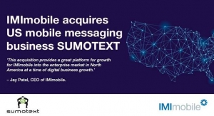 IMImobile Acquires Mobile Messaging Firm SUMOTEXT