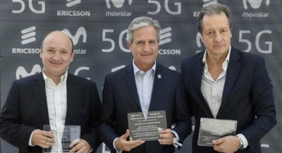 Telefónica-owned Movistar and Ericsson Showcase 20Gbps in First 5G Trial in Argentina