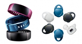Samsung Expands Fitness Wearable Portfolio with Gear Fit2 and Gear IconX