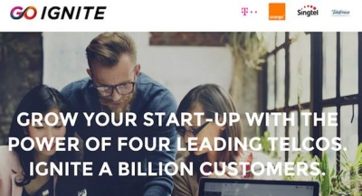DT, Orange, Singtel, Telefonica's Go-Ignite Picks Innovative Tech Start-Ups