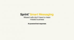 Sprint Launches AI-powered Text Messaging Service for Business Customers