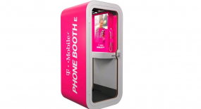 Phone BoothE - T-Mobile's New Soundproof Cube and Multi-use Hub