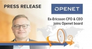 Former Ericsson CFO and CEO Jan Frykhammar Joins Openet Board of Directors