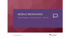 Revenues from RCS Messaging to Reach $9 Billion by 2022 with 90% of Traffic will be A2P, says Juniper Research