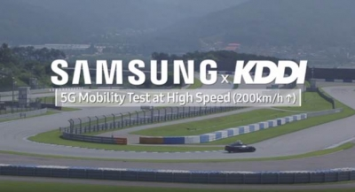 KDDI, Samsung Showcase 5G Millimeter Wave Mobility Trial at over 200km/h