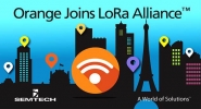 Orange Aims Nationwide LoRa Coverage in France by end of 2017, Plans LoRa Roaming with European MNO