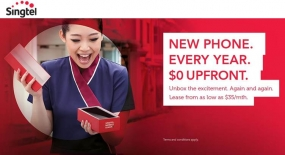Singtel Launches Singapore's 'First' Mobile Leasing Plans