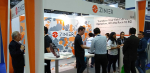 Zinier's Booth at CommunicAsia 2019