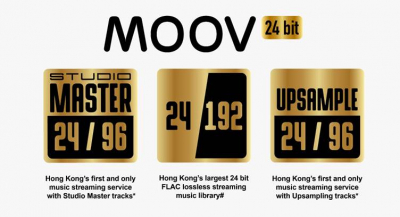PCCW's MOOV Launches Hong Kong's First 24 bit FLAC Lossless OTT Music Streaming Service