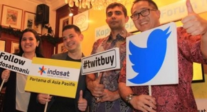 Indosat Partners Twitter to Launch Mobile Recharge via #TwitBuy