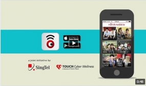 Singtel Launches notAnoobie, Cyber Wellness Mobile App
