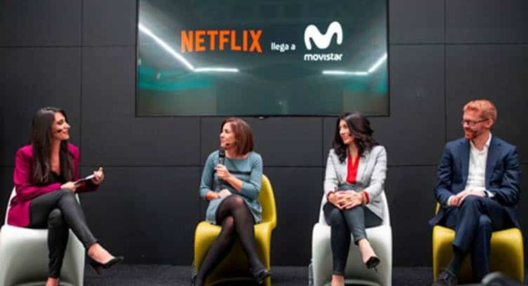 Movistar Launches Special Netflix Mobile Data Plans