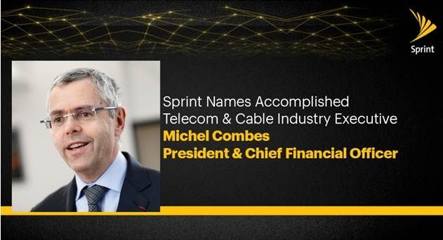 Sprint Appoints Former Altice Chief Michel Combes as New CFO