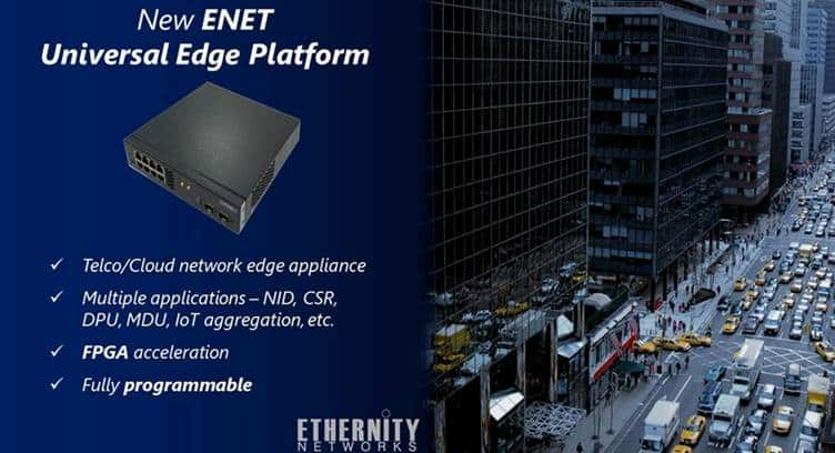 Ethernity Networks Releases New Programmable Network Appliance for Edge