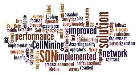 CellMining Adds SON Support for VoLTE