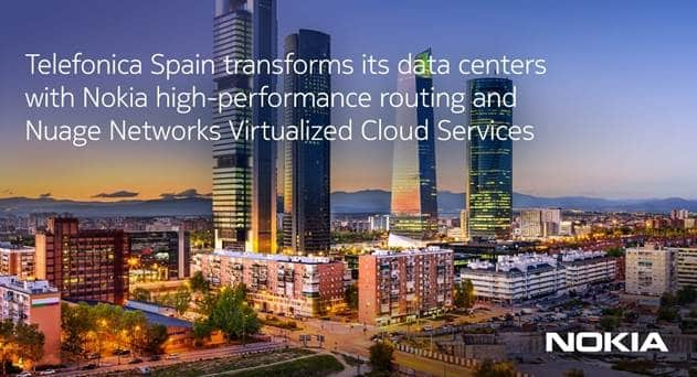 Telefónica Spain Automates Data Center Connectivity and Network Services with Nuage Networks VCS