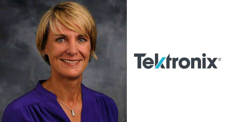 Tami Newcombe Takes the Helm at Tektronix