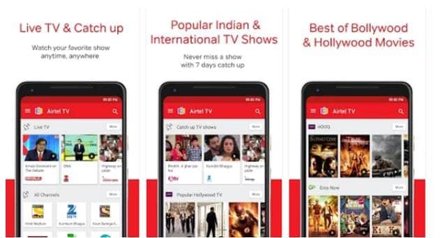 Airtel Rolls Out New Version of OTT TV App, Extends Free
