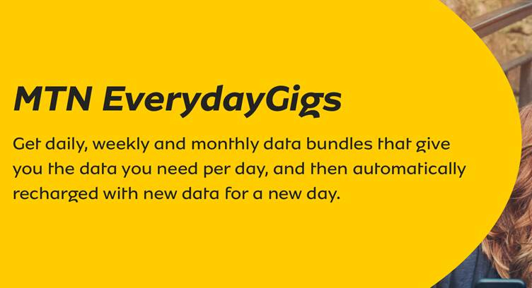 Mtn Sa Launches Everydaygigs To Offer Daily Allocation Of 1gb Data For Users