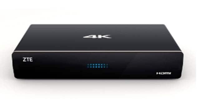 ZTE's New Hybrid Set Top Runs Android TV & Supports 4K & OTT