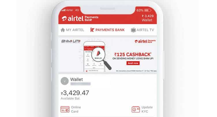 Airtel Payments Bank to Offer Bharti AXA Life Term Insurance Plan as Digital Service