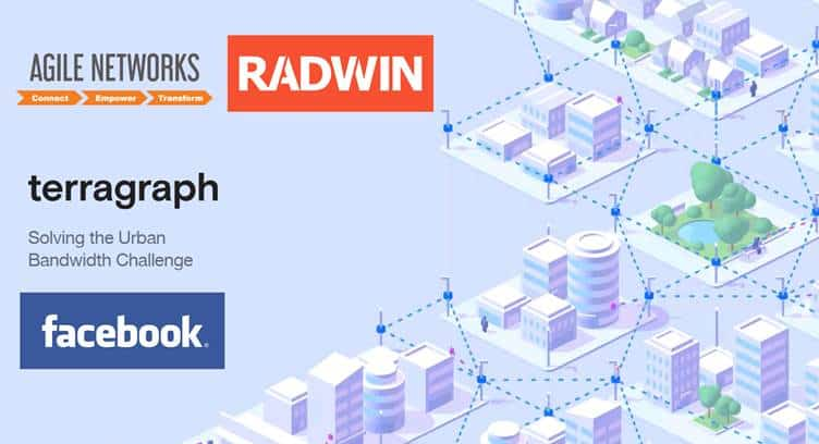 Agile Networks Partners with RADWIN and Facebook to Deploy Terragraph in Canton
