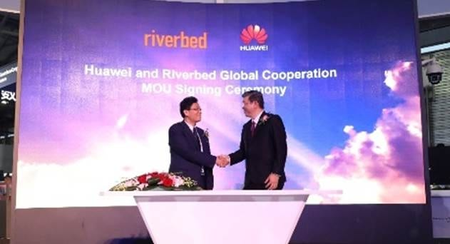 Huawei Combines Riverbed's Application Acceleration Tech to SD-WAN Offering