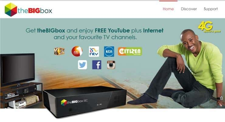 Safaricom Launches Mobile Triple Play HD TV Service with Unique Hybrid Data Solution