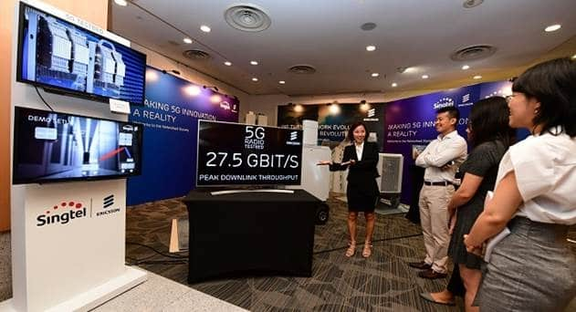 Singtel Partners Ericsson, Huawei and ZTE to Enhance LTE-A