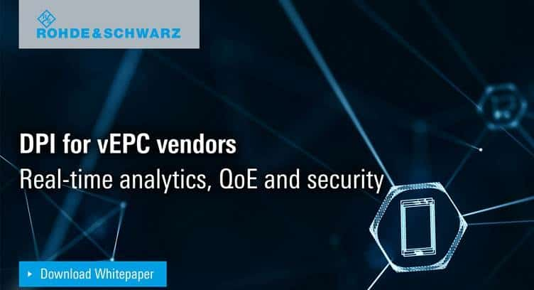 DPI For vEPC Vendors: Real-Time Analytics, QoE & Security