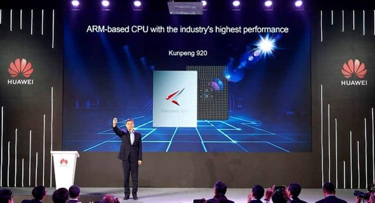 Huawei Unveils 7nm High-Performance ARM-based CPU