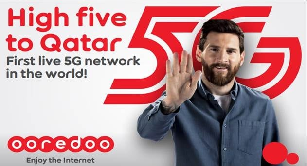 Ooredoo 'First' to Launch 5G Commercial Network in the World