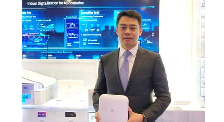 Huawei Releases 5G LampSite Family Solutions for All Indoor Scenarios