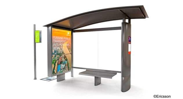 KPN Deploys C-RAN Small Cells in a Bus Stop in Amsterdam