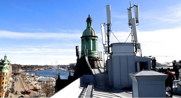 Sweden's Telia Showcases 757Mbps in Massive MIMO Trial on Commercial 4G Network