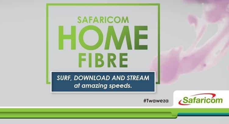 Safaricom Bundles Home Fiber with Mobile Data, Calls and Home Insurance