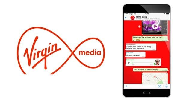Virgin Media UK Launches 4G Plans with Zero-rated Messaging on WhatsApp/Facebook & Data Rollover