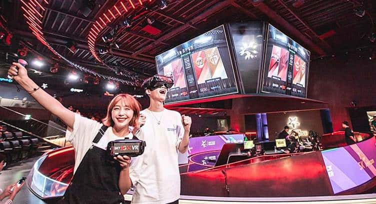 SK Telecom Launches Three New 5G AR and VR Services for eSports