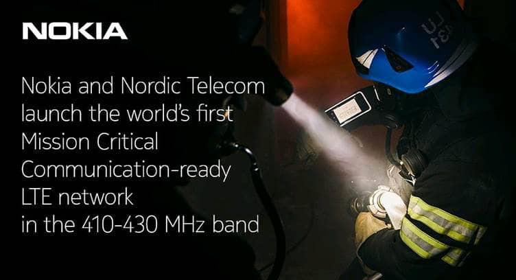 Czech Operator Nordic Telecom, Nokia Launch Mission Critical