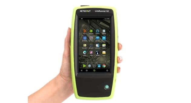 NETSCOUT Intros Android-based Smart Tester for Wired Network