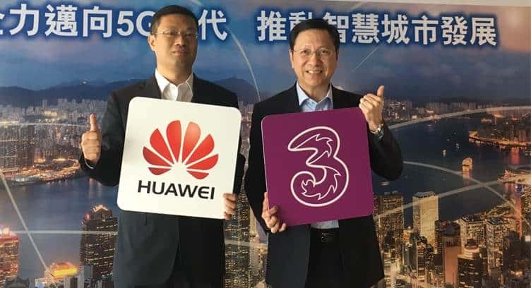3 HK to Deploy All-Cloud Core Network from Huawei; Signs Cloud, Big Data and IoT Deal with Alibaba