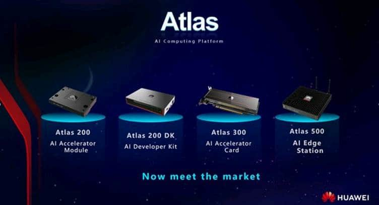 Huawei Launches Atlas AI Computing Platform