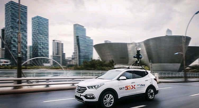 SK Telecom to Develop 5G-based HD Map for Self-driving Cars in South Korea
