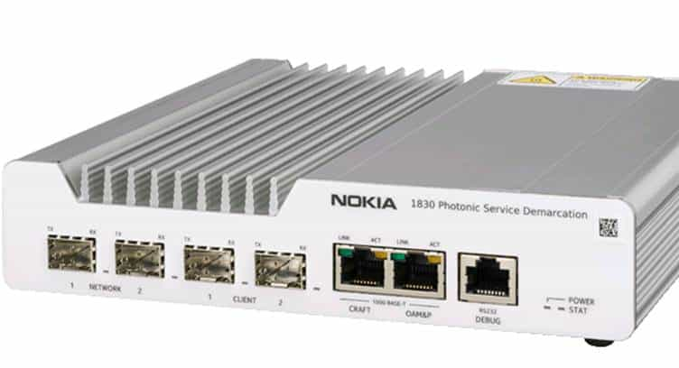 Portugal's ONI Telecom to Deploy Nokia 1830 Optical CPE to Provide Cost-effective 10G Links