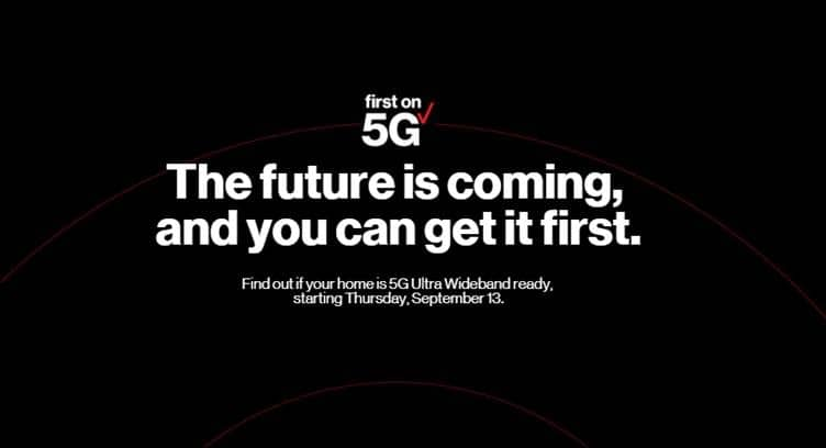 Verizon 5G Home Service Launches October 1st with Free Apple TV 4K