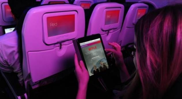 Virgin America Makes Netflix Streaming Possible at 35,000 Feet